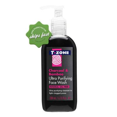 T ZONE CHARCOAL FACIAL WASH 200ML
