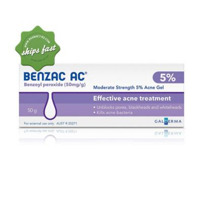 BENZAC AC GEL 5 pc 50GM