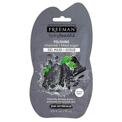 Freeman Charcoal & Black Sugar Face Mask 15ml