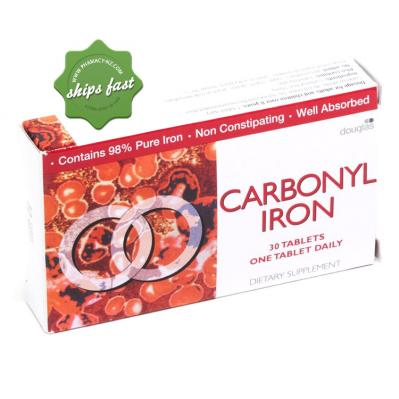 CARBONYL IRON TABLETS 30