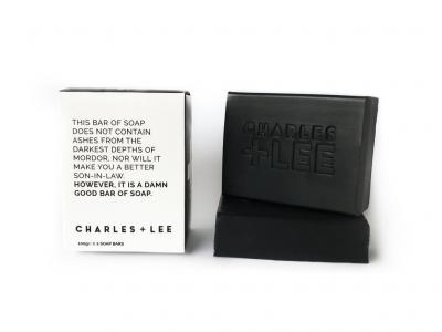 CHARLES + LEE CHARCOAL SOAP DUO PACK
