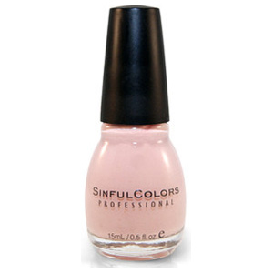 SINFUL COLORS NAIL ENAMEL EASY GOING