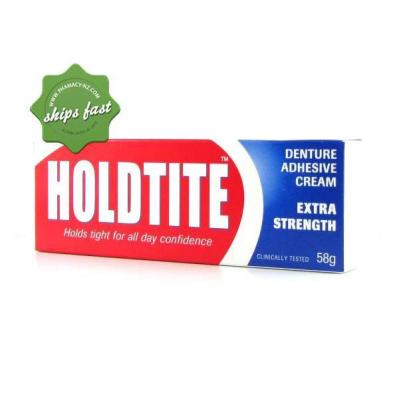 HOLDTITE DENTURE CREAM 60G