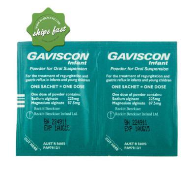 GAVISCON INFANT POWDER 30 SACHETS