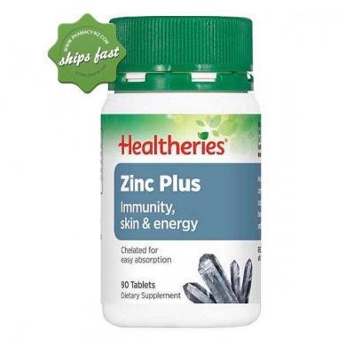 HEALTHERIES ZINC PLUS 90s