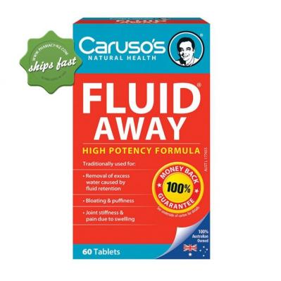 CARUSO S FLUID AWAY HIGH POTENCY 30 TABLETS
