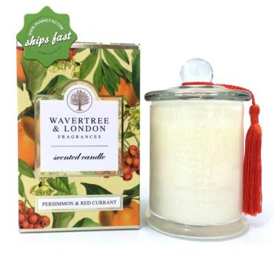 Wavertree L NAT PRODUCTS PERSIMMON SOY CANDLE 3