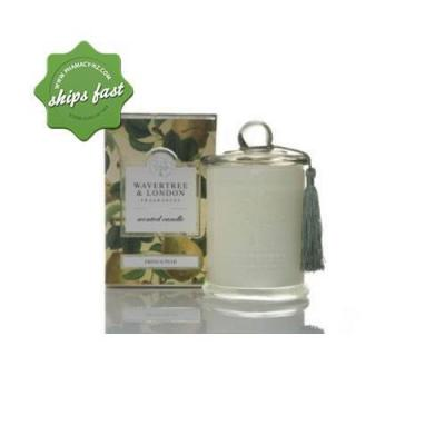 WAVERTREE AND LONDON FRAGRANCES SCENTED SOY CANDLE FRENCH PEAR 60HR