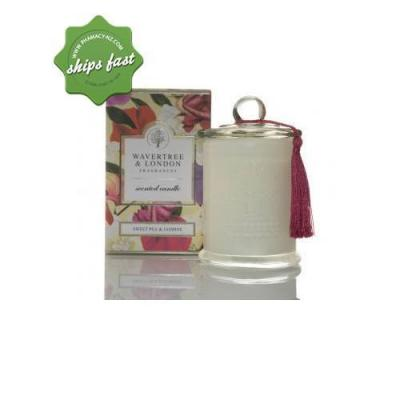 Wavertree L NAT PRODUCTS SWEETPEA SOY CANDLE 303