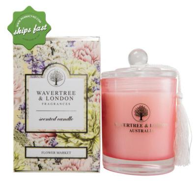 Wavertree L NATU FRAG SCENTED SOY CANDLE FLOWER