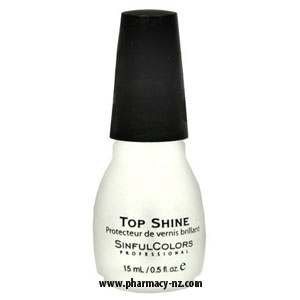 SINFUL COLOR NAIL ENAMEL TOP SHINE