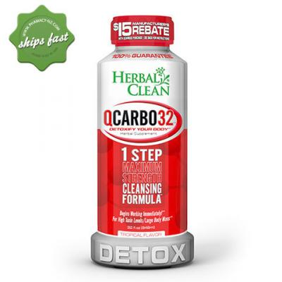 HERBAL CLEAN Q CARBO32 1 STEP MAX 32OZ