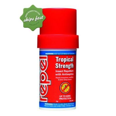 REPEL TROPICAL STRENGTH INSECT REPELLENT 75GM