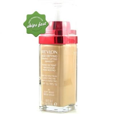 REVLON AGE DEFYING FIRMING + LIFTING MAKEUP SOFT BEIGE (Special buy online only)