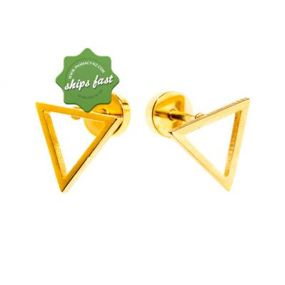 EURO GOLD TRIANGLE SCREW BACKS