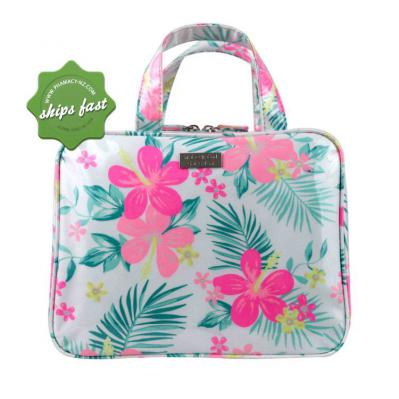 WICKED SISTA BRIGHT HIBISCUS LARGE HOLD ALL COSMETIC BAG