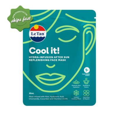 LE TAN COOL IT HYDRA INFUSION AFTER SUN MASK 25ML