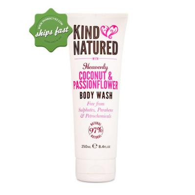 KIND NATURED HEAVENLY BODY WASH COCONUT AND PASSION FLOWER 250ML
