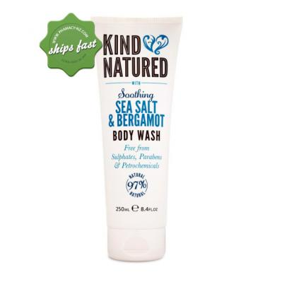 KIND NATURED SOOTHING BODY WASH SEA SALT AND BERGAMOT 250ML