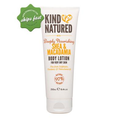 KIND NATURED MACADAMIA AND SHEA BODY LOTION 250ML