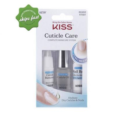 KISS NAILS CUTICLE CARE DAILY MAINTENANCE SYSTEM