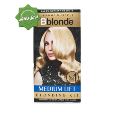 JEROME RUSSEL B BLONDE HAIR LIGHTENER LIGHT TO MEDIUM HAIR