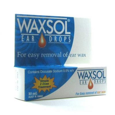 WAXSOL EAR DROP 10ML