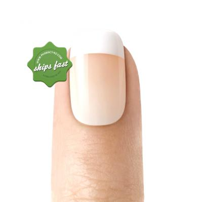 KISS SALON ACRYLIC FRENCH REAL SHORT KSA11 28 NAILS (Special buy online only)
