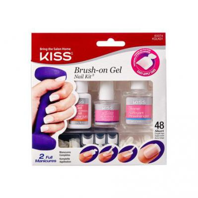 Kiss Brush On Gel Kit