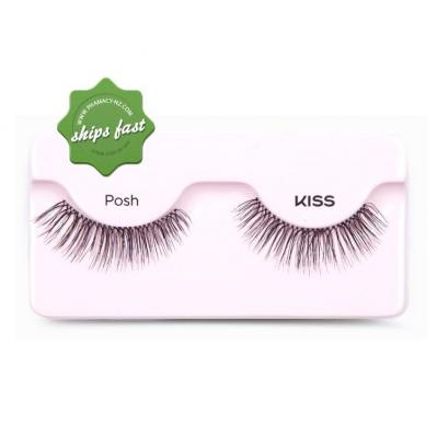KISS TRUE VOLUME TAPERED END LASHES POSH