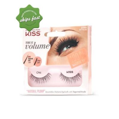 KISS TRUE VOLUME TAPERED LASHES CHIC