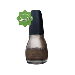 SINFULCOLORS NAIL E ENAMEL GOLD METAL