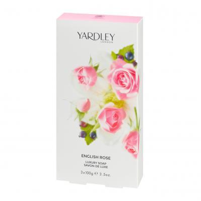 Yardley English Rose Soap 3x100g
