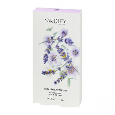 Yardley English Lavender Soap 3x100g