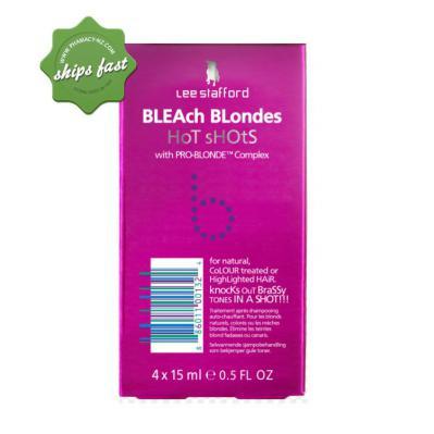 LEE STAFFORD BLEACH BLONDES HOT SHOTS 4 X15ML