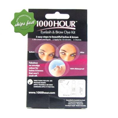 1000 HOUR EYELASH AND BROW DYE BLUE BLACK
