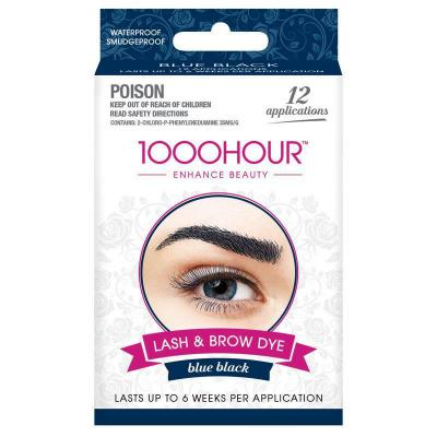 1000 Hour Eyelash & Brow Dye Blue Black