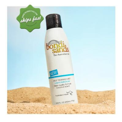 BONDI SANDS SELF TANNING MIST LIGHT MEDIUM 250ML (Special buy online only)