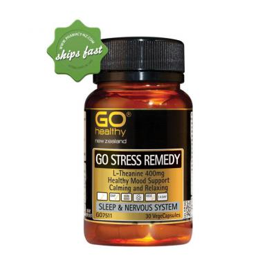 GO Healthy Stress Remedy 30 Vege Capsules