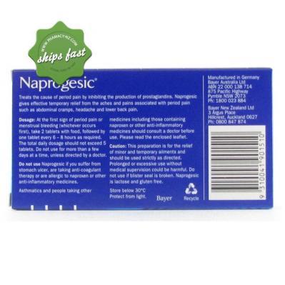 NAPROGESIC 12s