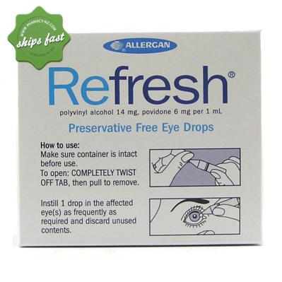 REFRESH EYE DROPS 0 4ML 30