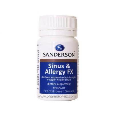 SANDERSON SINUS AND ALLERGY FX 60 CAPS