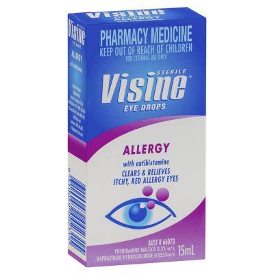 Visine Allery Eye Drops 15ml