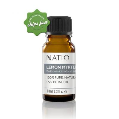 NATIO ESSENTIAL OIL LEMON MYRTLE 10ML