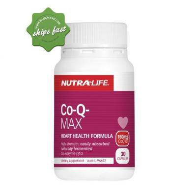 NUTRALIFE CO Q MAX 150MG 30 CAPSULES