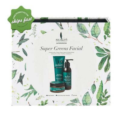 SUKIN SUPER GREENS FACIAL GIFT PACK