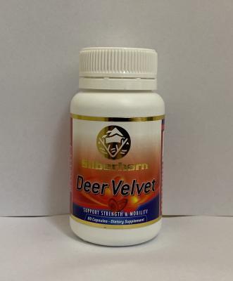 Silberhorn Deer Velvet Red 22mg 80 Tablets