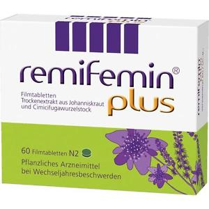 REMIFEMIN PLUS WITH ST JOHN S WORT 60 TABLETS