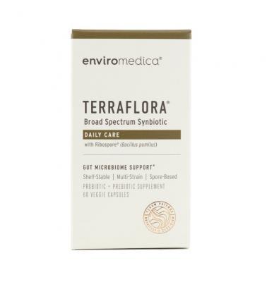 Terraflora Prebiotic Probiotic Synbiotic 60 Capsules