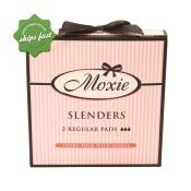 MOXIE SLENDERS 2 REGULAR PADS ULTRA THIN WITH WING